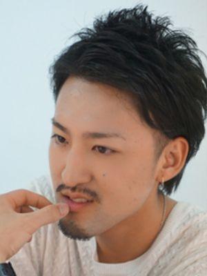 ワイルド☆ツーブロックショートヘア@岡しゃん