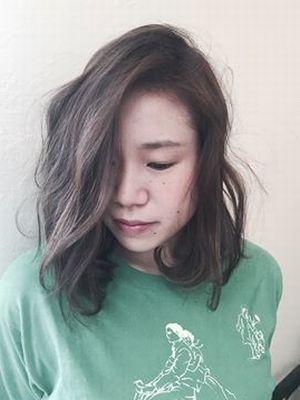 ☆アッシュ濃いめ 髪質にあってるので色が綺麗☆