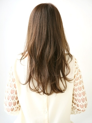 nao*c前髪長めのナチュラルロングスタイル