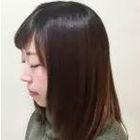 カラー + 縮毛矯正 + ブロー