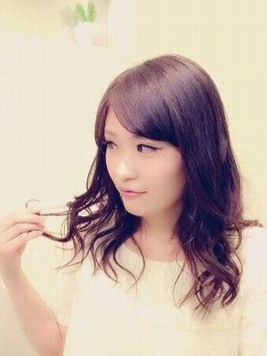 美髪 艶カラー × 清楚系カール