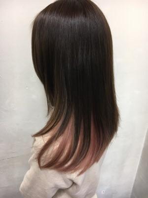 インナーカラー★ピンク