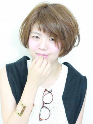 斜め前髪×簡単スタイリング