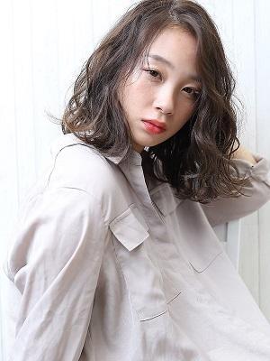 ハンサムガール×ベイクドモス【無造作カール】