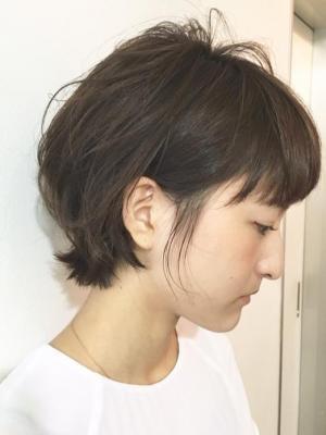 プロダクト☆セミウエットな質感☆ウルフボブ☆担当高橋