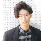 【メンズ人気No.3】 メンズカット+ハーブパーマ+眉カット 9,720円