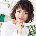 【ハーブでふわ髪】カット+ハーブパーマ+ハーブトリートメント15,120円→10,800円