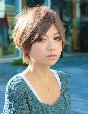 富岡佳子風キレイかわいいショートスタイル