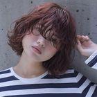 似合わせカット+前髪パーマ+炭酸泉ヘッドスパ
