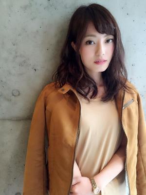 ニュアンスアシメカール ☆ミディアム☆