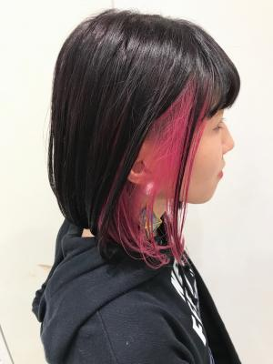 ピンクパープル×人気のピンクインナー☆Euphoria 宍戸