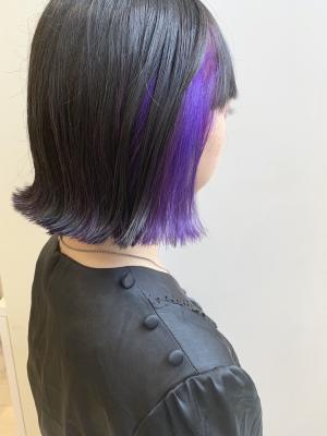 インナーカラー☆violet三都季