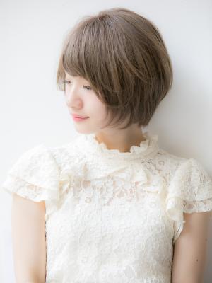 【Euphoria 金沢】小顔になれる 柔らかショートボブ♪