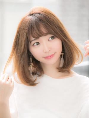 【Euphoria 金沢】大人かわいい小顔ミディアムボブ♪
