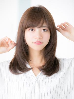 【Euphoria 金沢】大人の艶髪ナチュラルストレート♪