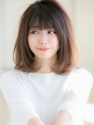 【Euphoria 金沢】柔らかカールのミディアムボブ♪