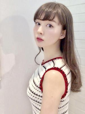【Euphoria 金沢】髪質改善ストレート&小顔ロング♪