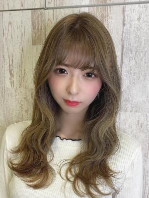 【Euphoria 金沢】韓国風ウェーブ×愛され小顔ロング♪
