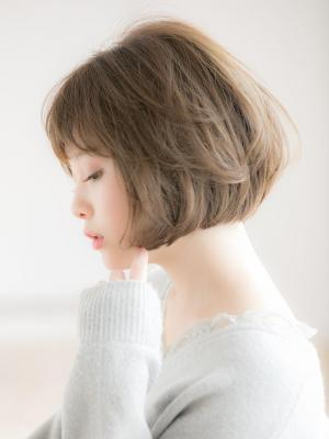 【Euphoria 金沢】マシュマロカール小顔ゆるふわボブ♪