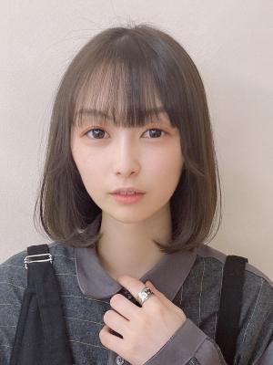 10代20代☆ぱっつん前髪のゆるふわボブ♪【担当 金沢】