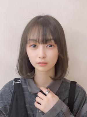 10代20代☆目力アップ!ぱっつん前髪ロブ♪【担当 金沢】
