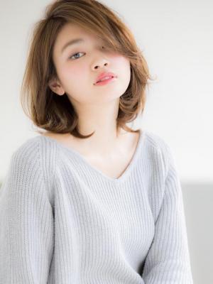 【Euphoria】うざバング☆ナチュショート 担当 三輪