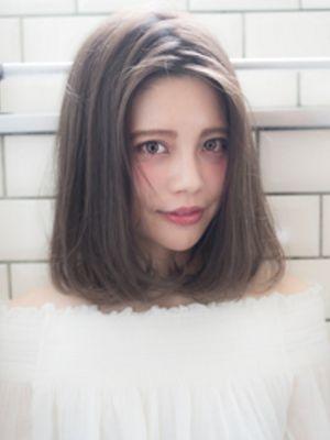 小顔ナチュラルボブ/Mii