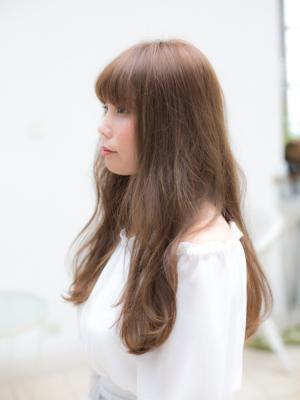 厚めバングゆるふわレディ【IDs/聖蹟桜ヶ丘駅】