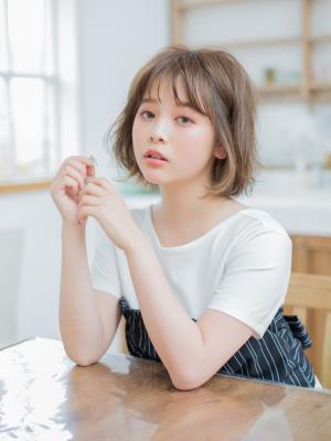 シースルーボブ 【IDs/聖蹟桜ヶ丘駅】