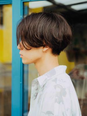 前下がりマッシュ【IDs/聖蹟桜ヶ丘駅】