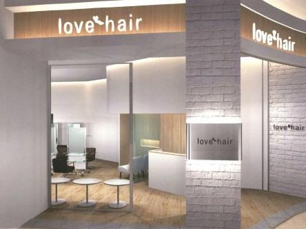 lovehair イオンモール太田店4