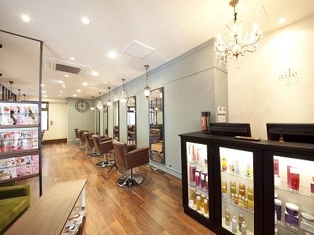 aile Organic Hair Salon 西大寺店1