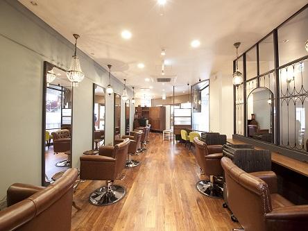 aile Organic Hair Salon 西大寺店2