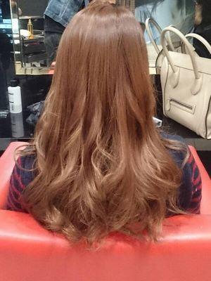 【hair make FOX】ダブルカラー♪