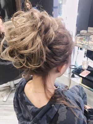 hair make FOX_ヘアアレンジ