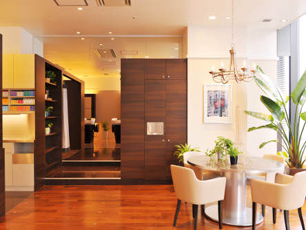 hair cutting garden Jacques Moisant 梅田店3