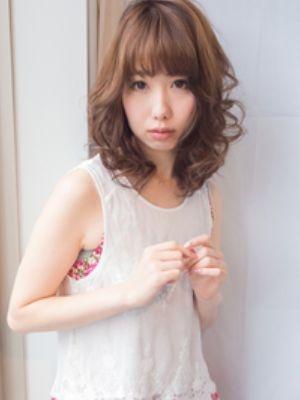 【es西梅田】可愛い♪ほつれセミディー