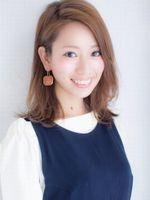【Lond】伊原亜里紗 かき上げバング×クセ毛風ボブ☆