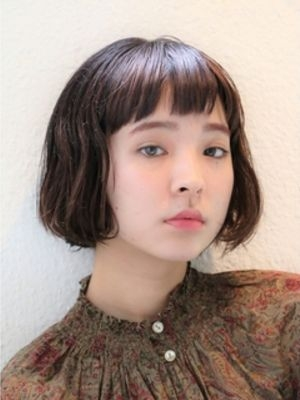 フレンチボックスボブ【表参道drop舘洞】