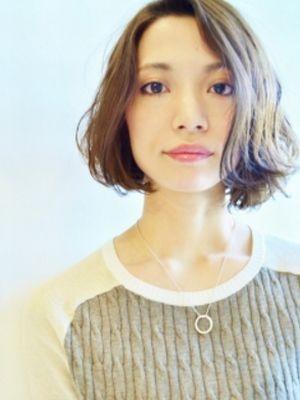 ニュアンスウェーブボブ【表参道/青山 drop】