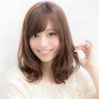 前髪パーマ+前髪カット 6,480円→5,400円