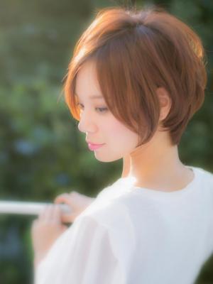 【Euphoria】☆首筋のラインが綺麗に見える☆ショート