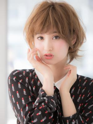 フェアリーカールx小顔ショートボブ☆【小幡】