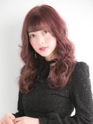 ☆ピンクベージュ×お手入れ簡単デジタルパーマ☆