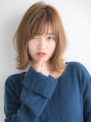 【Euphoria】大人可愛い☆ひし形シルエットの外ハネボブ