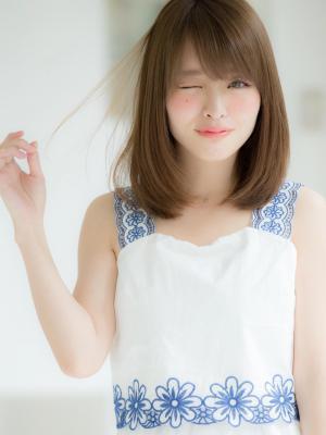 【Euphoria】大人可愛い柔らかストレートの小顔ロブ☆
