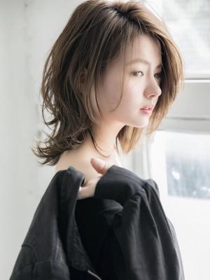 『小顔になりたい』を叶える☆外ハネ・ネオウルフ☆小幡