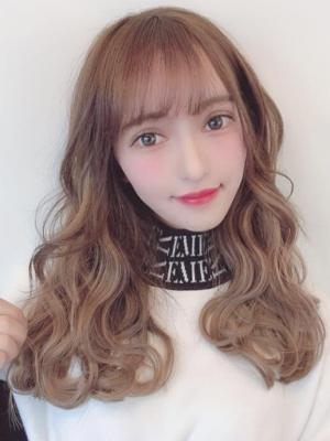 モテ髪ミルクティーベージュ☆セミロング