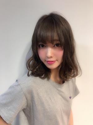 【Euphoria佐藤】スヌーピー巻き☆グレージュロブ
