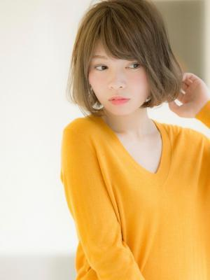 【Euphoria 宮本】小顔ふんわりボブ english
